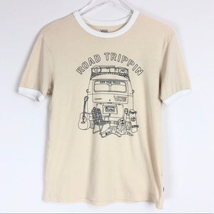 Vans | Short sleeves cream tees Road Trippin